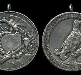 Medaille HSB Einweihungsschiessen 1924